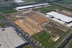 Habacker-Luftaufnahme-Logistikzentrum-Krefeld-Fichtenhain