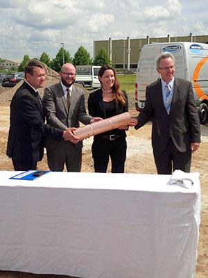 Habacker Holding Grundsteinlegung-Waiblingen 15.07.2014