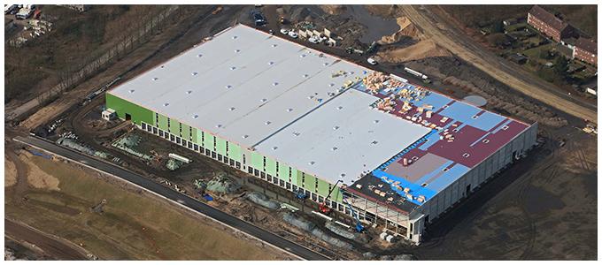 Habacker Holding Immobilie Kamp-Lintfort Luftaufnahme Goldbeck